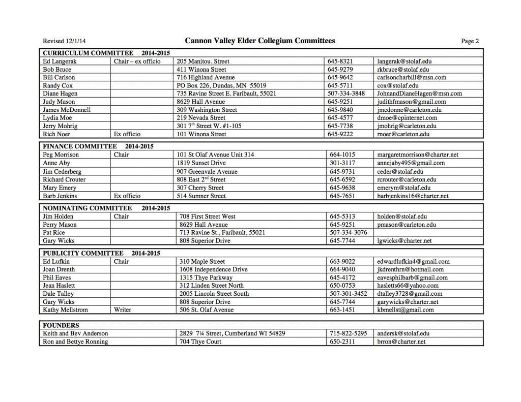 Board & Staff 2014-15 p2